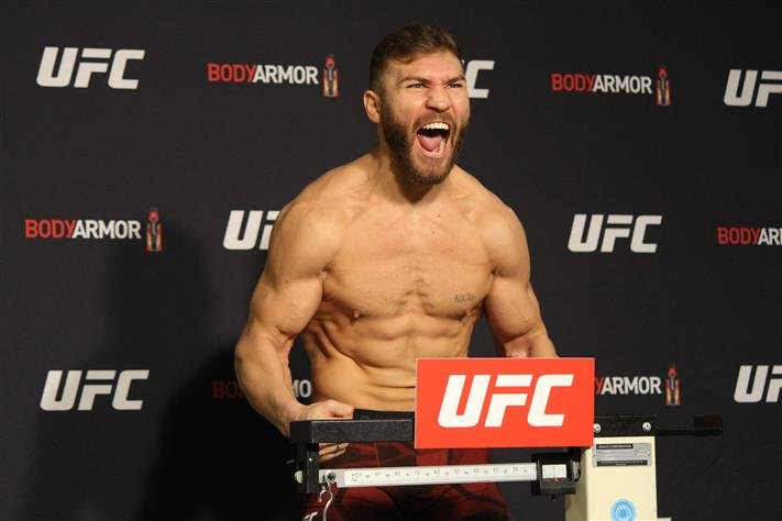 Ion Cutelaba And Magomed Ankalaev Will Run It Back At Ufc 249