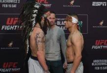 Brok Weaver and Kazula Vargas, UFC Rio Rancho