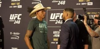 Alex Oliveira and Max Griffin UFC 248
