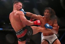 Michael Chandler and Benson Henderson Bellator 165