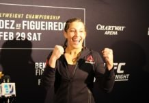 Felicia Spencer UFC Norfolk