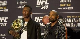Israel Adesanya and Yoel Romero, UFC 248