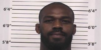 Jon Jones latest mugshot
