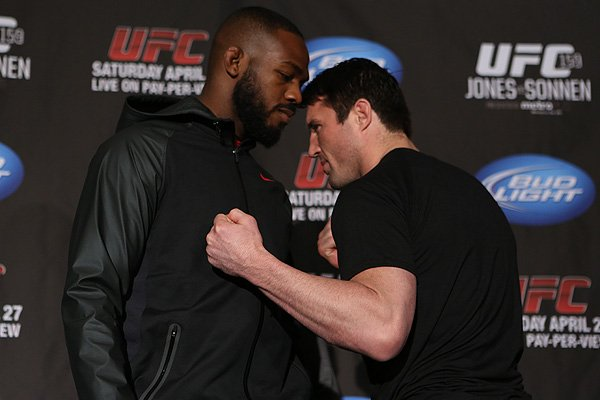 Jon Jones and Chael Sonnen, UFC