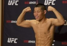 Li Jingliang UFC