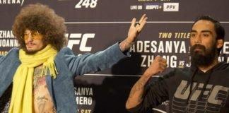 Sean O'Malley and Jose Quinonez UFC 248