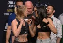 Emily Whitmire & Polyana Viana UFC 248