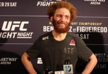 Luis Pena (Violent Bob Ross), UFC Norfolk