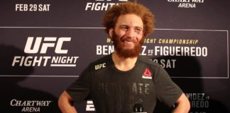 Luis Pena (Violent Bob Ross), UFC Norfolk