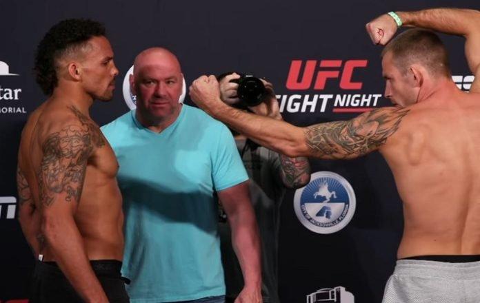Krzysztof Jotko Eryk Anders UFC