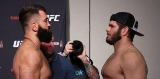 Andrei Arlovski and Philipe Lins UFC Jacksonville
