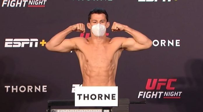 Billy Quarantillo UFC