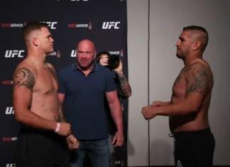 Chase Sherman and Ike Villanueva, UFC Jacksonville
