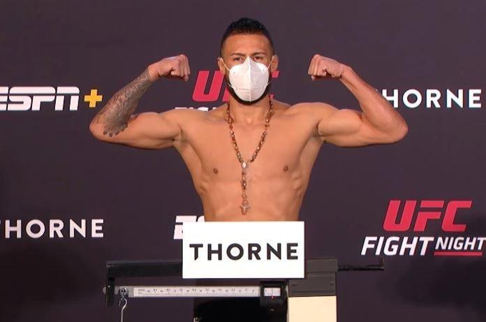 Chris Gutierrez UFC