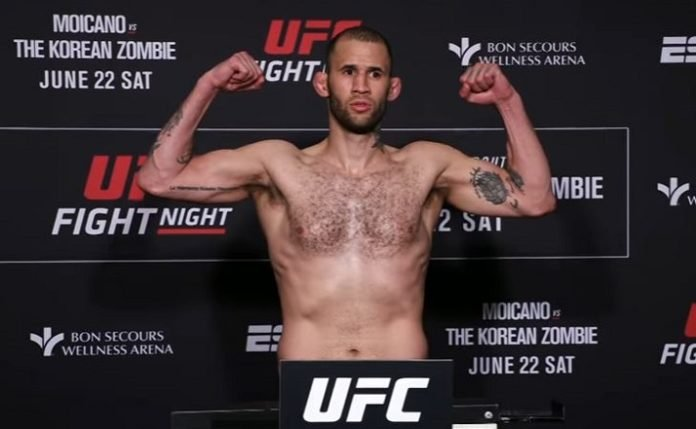 Eric Spicely UFC