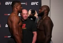 Francis Ngannou and Jairzinho Rozenstruik, UFC 249