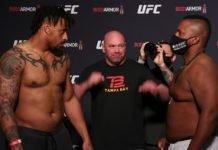 Greg Hardy and Yorgan De Castro, UFC 249