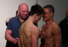Alexander Hernandez and Drew Dober, UFC Jacksonville