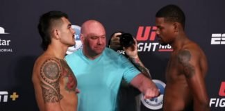 Anthony Hernandez and Kevin Holland UFC on ESPN 8