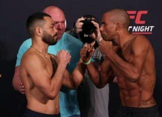 Dan Ige and Edson Barboza, UFC