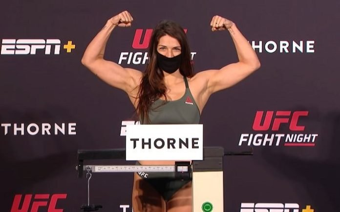 Mackenzie Dern UFC