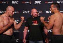 Aleksei Oleinik and Fabricio Werdum, UFC 249