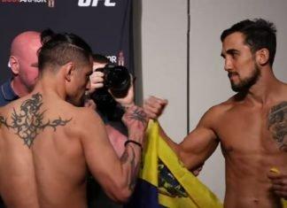 Gabriel Benitez and Omar Morales UFC Jacksonville