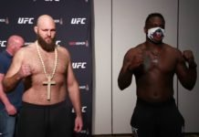 Ben Rothwell and Ovince Saint Preux, UFC Jacksonville