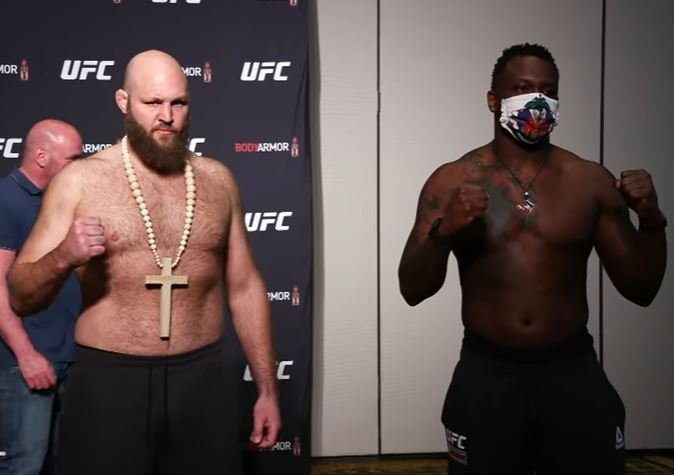 Ben Rothwell and Ovince Saint Preux, UFC Jacksonville