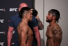 Ricky Simon and Ray Borg, UFC Jacksonville