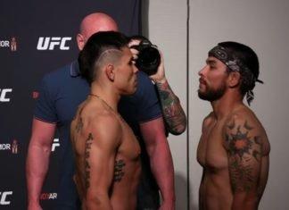 Ricky Simon and Ray Borg, UFC Jacksonville