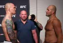 Anthony Smith and Glover Teixeira, UFC Jacksonville