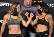 Tecia Torres and Brianna Van Buren UFC on ESPN 11