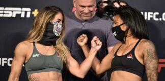Tecia Torres and Brianna Van Buren UFC on ESPN 11