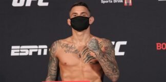 Dustin Poirier UFC on ESPN 12