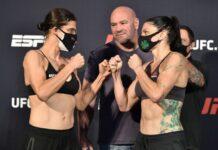 Roxanne Modafferi and Lauren Murphy, UFC on ESPN 10