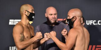 Frank Camacho and Justin Jaynes, UFC on ESPN 11