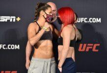 Cortney Casey and Gillian Robertson, UFC on ESPN 11
