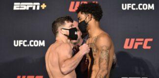 Jim Miller and Roosevelt Roberts, UFC on ESPN 11