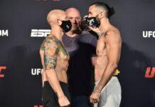 Josh Emmett and Shane Burgos, UFC on ESPN 11