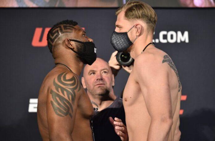 Curtis Blaydes vs. Alexander Volkov UFC on ESPN 11