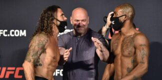 Clay Guida and Bobby Green, UFC on ESPN 11