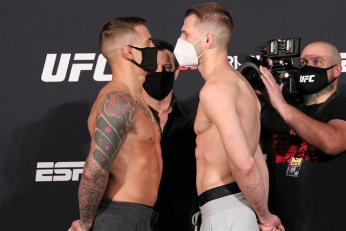 Dustin Poirier and Dan Hooker, UFC on ESPN 12