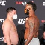 Gian Villante and Maurice Greene UFC on ESPN 12