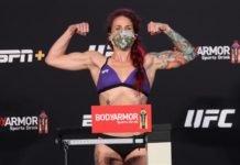Gina Mazany UFC