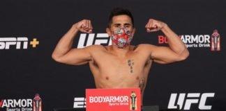 Gustavo Lopez, UFC