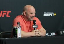 Dana White UFC on ESPN 10 post-fight