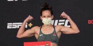 Jinh Yu Frey UFC