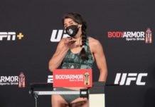 Julia Avila, UFC