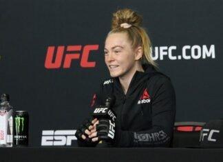 Kay Hansen, UFC on ESPN 12